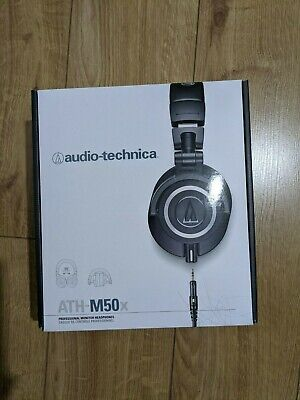 Audio-Technica ATH-M50X Wired Headphones - Fully Working • 11.50£