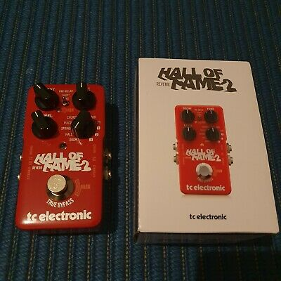 TC-Electronic Hall Of Fame 2 - Reverb Guitar Effects Pedal • 44£