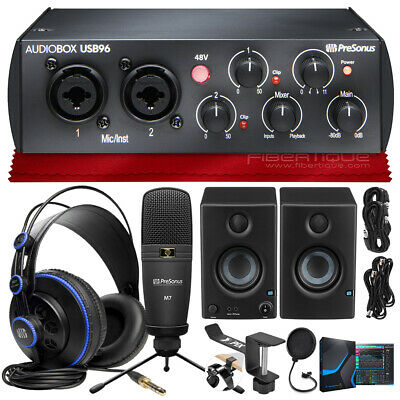 PreSonus AudioBox 96 Studio Complete With Studio One Artist And Studio Magic+... • 252.53£