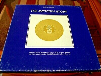 The Motown Story  5xLPs Boxed Set USA Motown MS 5-726 From 1970 • 8.99£