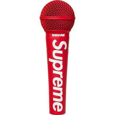 Supreme® Mic Shure SM58® Vocal Microphone Red Mic / In Hand / Brand New • 349.99£