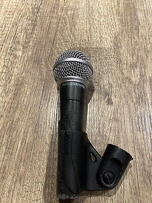Shure SM58-LC Dynamic Wired XLR Professional Microphone • 43.28£
