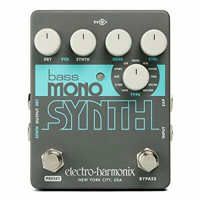 Electro Harmonix Bass Mono Synth Effects Pedal • 133.67£