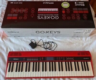 Roland Go : Keys Music Creation Keyboard - Red | Mint Condition • 220£