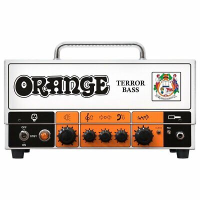 Orange Amps Terror Bass 500w Hybrid Valve Head • 599£