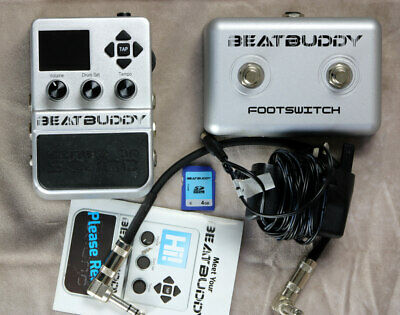 BeatBuddy By Singular Sound Drum Machine Pedal With SS Footswitch • 230£