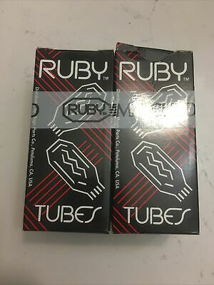 Ruby Tube EL34BHT 6CA7 Pair Of  Vacuum Tubes   • 16.53£
