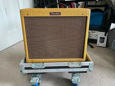 Limited Edition, Lacquered Tweed Blues Junior With Flight Case (+Modded PCB) • 550£