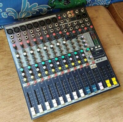 Soundcraft EFX8 Mixer With Built In Lexicon Digital Effects • 75£