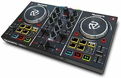 Numark Serato DJ Lite Compatible 2-channel Plug And Play DJ Controller: Audio I • 142.93£