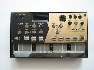Korg Volca Drum, Digital Percussion Synthesizer, Original Box & Instructions • 100£