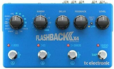 Tc Electronic Flagship Delay Pedal FLASHBACK II X4 DELAY [Domestic] • 301.64£