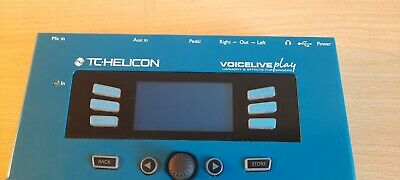 TC HELICON VoiceLive Play -Harmony And Effects. Vocal Processor And Looper. • 200£