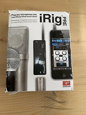 IK Multimedia iRig Pre Universal Microphone Interface for iPhone/iPod Touch/iPad