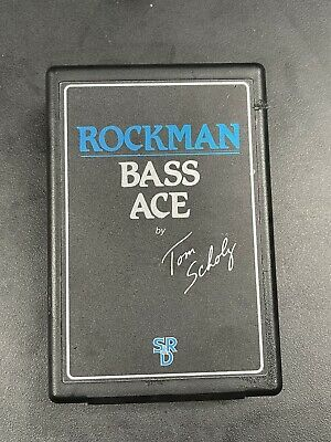 Rockman Bass Ace Headphone Amp For Electric Bass By Tom Sholtz.. Vintage • 39.52£