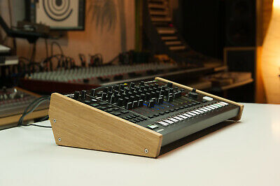 New! Roland MC-707 Wood Stand Wooden Sidepanel Desktop Stand Rack Lo
