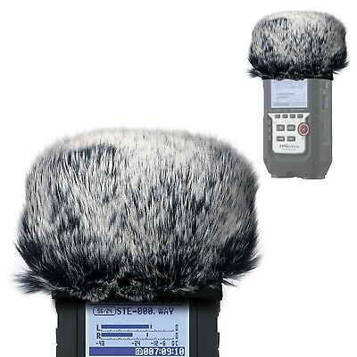 Furry Outdoor Microphone Windscreen Muff for Zoom H4N Pro Portable Digital Re...