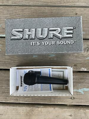 Shure RS45A Dynamic Microphone With On And Off Box And Manuals • 43.62£