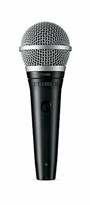 Shure Dynamic Microphone Ho? 1/4 Inch Phone Cable Included Pga48-Qtr [Domestic R