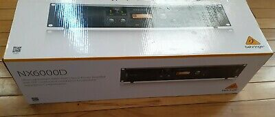 BEHRINGER NX6000D With DSP, UPGRADED D CLASS AMPLIFIER • 431.54£