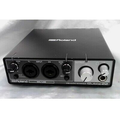 Roland Rubix 22 USB Audio Interface 24bit/192kHz 2in/2out Used Good Condition