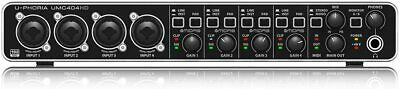 Behringer UMC404HD Audio Interface - Audifile 4x4 Preamp
