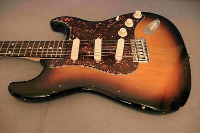 Modified Fender Squier Affinity Strat - new pickups & wiring
