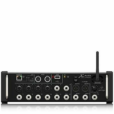 Behringer XR12 12-Input Digital Mixer for iPad/Android Tablets w/MIDAS Preamps