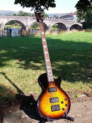 Ultra Rare Epiphone by Gibson Les Paul Bass Quilted Sunburst!
