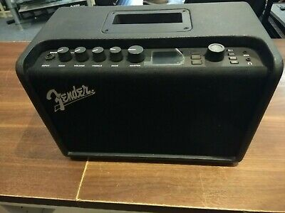 Fender Mustang GT40 Bluetooth Enabled Solid State Modeling Guitar Amplifier.