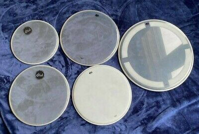 Set DW by REMO Drum heads 10