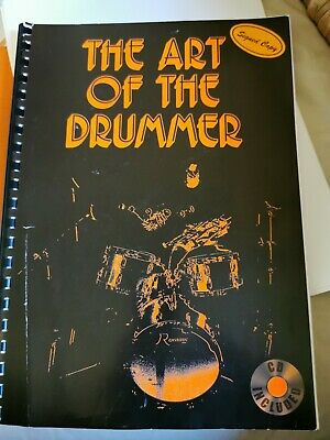 'The Art Of The Drummer Book' Tutorial Spiral End Music Book