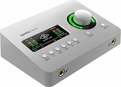 Universal Audio Apollo Solo USB Anna Log 2 in / 4 out USB 3 connection AC adapt