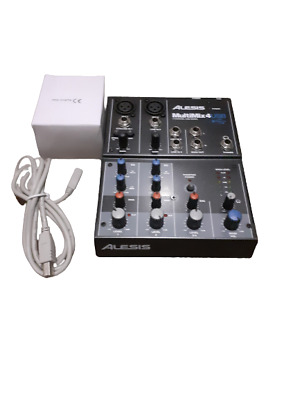 Alesis Multimix4 USB  4-Channel Mixing Desk with USB Interface