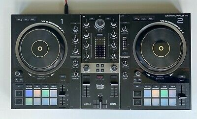 Hercules Inpulse 500 DJ Controller for serato and djuced