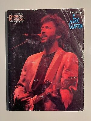 The Best of Eric Clapton - Hal Leonard Recorded Versions songbook