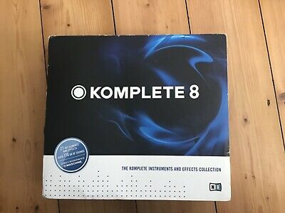 Native Instruments Komplete 8 - All 12 Discs Excellent Condition - incl. serial