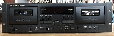 Tascam 202 MKVII Dual Deck Cassette Player & Recorder With USB