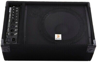 The Box 100w PA system, 1 power and 1 passive monitor (2 units). Brand new