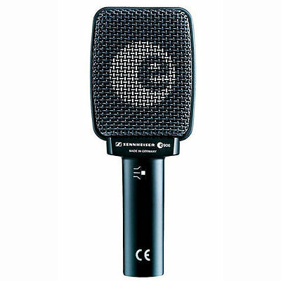 Sennheiser E906 Silver Supercardioid Dynamic Guitar Vocal Microphone *BRAND NEW* • 143.33£