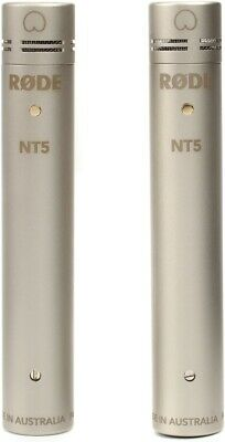 Rode Nt5 Small Diaphragm Matched Pair Condenser Microphones • 348.04£