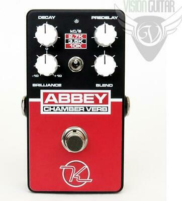 NEW! Robert Keeley Abbey Chamber Verb – Vintage Reverb • 122.17£