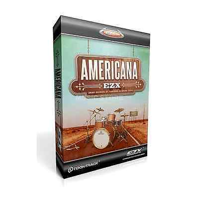 Toontrack EZX Americana - Expansion For EZ Drummer (Serial Download) • 51.95£