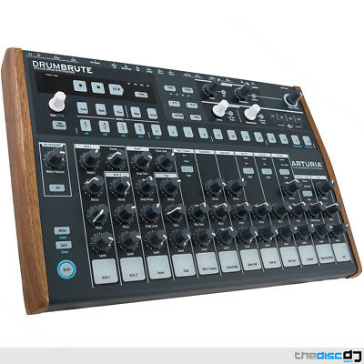 Arturia DrumBrute Analogue Drum Machine And Sequencer • 395£