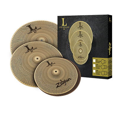 Zildjian L80 Low Volume Cymbal Box Set 14/16/18 - Video Demo • 244.68£