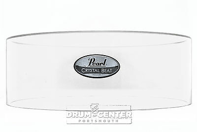 Pearl Crystal Beat Acrylic Free Floating Snare Shell 14x5 Ultra Clear - Video