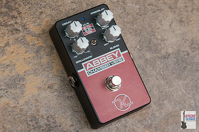 NEW Keeley Abbey Chamber Verb Pedal - Iconic Chamber Room Reverb At Your Feet • 122.17£