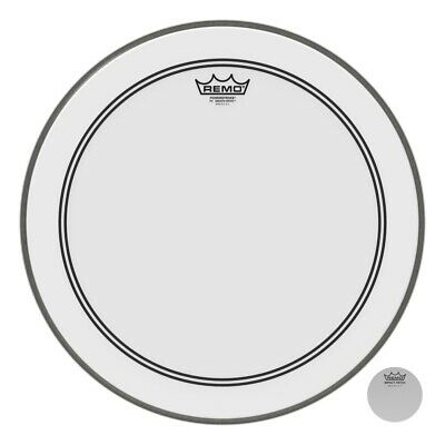 Remo Smooth White Powerstroke P3 18 Inch Drum Head w/2.5 Impact Patch