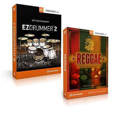 Toontrack EZdrummer 2 And EZX Reggae Expansion (Serial Download) • 149£