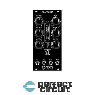 Erica Synths Fusion VCA V2 Amplifier Modular EURORACK - NEW - PERFECT CIRCUIT • 207.89£